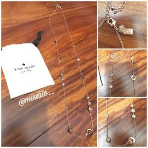 Kate Spade Rose Gold Necklace